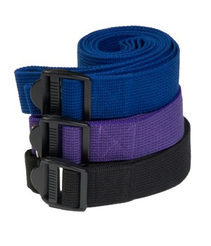 6 Foot Yoga Strap With Cinch Buckle